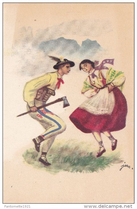 Cartes Postales > Thèmes > Folklore > Danses - Delcampe.fr