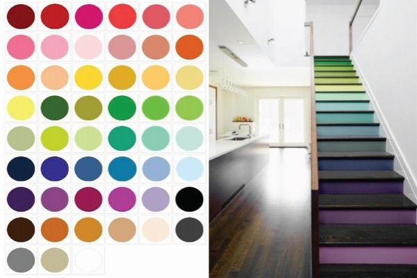 colori per interni moderni