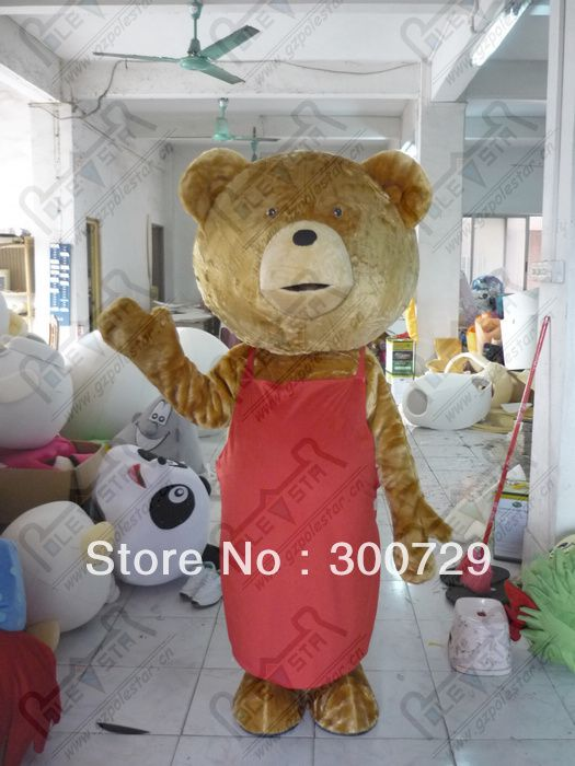 >> Click to Buy << export high quality cartoon MASCOT COSTUME red scarf ted mascot costume hot sale teddy mascot costume new teddy bear costume fan #Affiliate