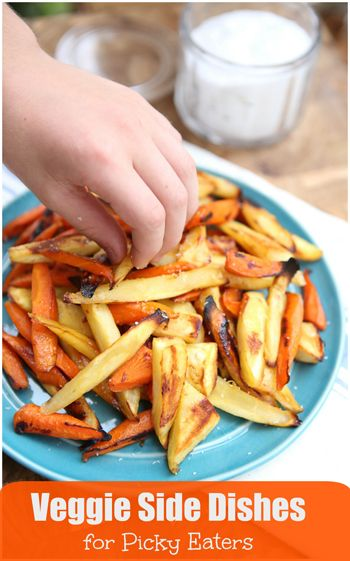 Great ideas for veggie side dishes for the whole family!