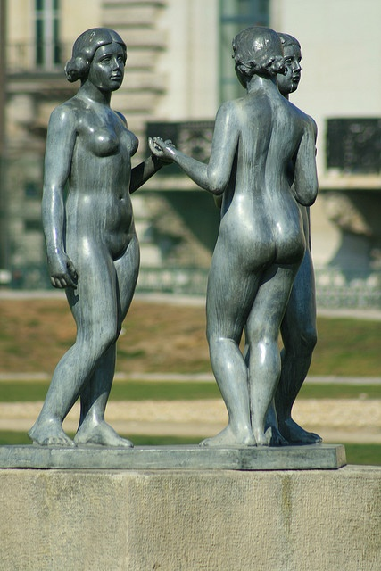 Trois Nymphes / Three Nymphs, by Aristide Maillol, Carousel Gardens, Paris I