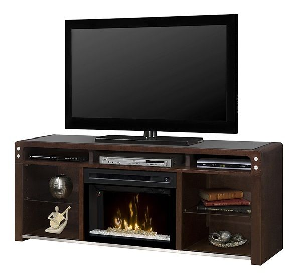Dimplex Galloway Java electric fireplace media cabinet; $1049 cdn.