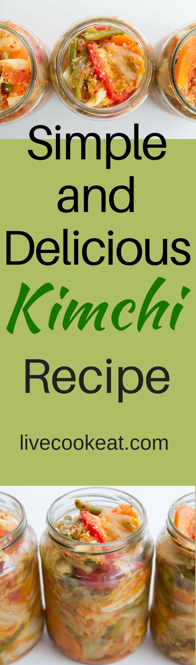 Kimchi is a traditional Korean side dish that is tangy and sour with a little heat. This stuff is delicious and supper healthy. Give your gut bacteria a boost and try making some