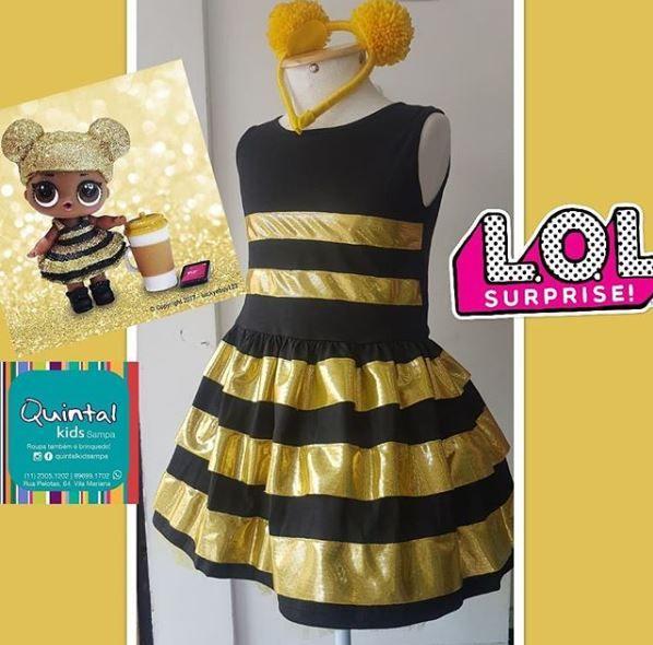 a2690f120f Vestido Queen Bee