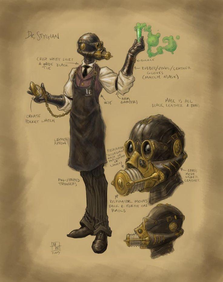 Doctor Stygian by Matt Wilson mattwilsonart.com