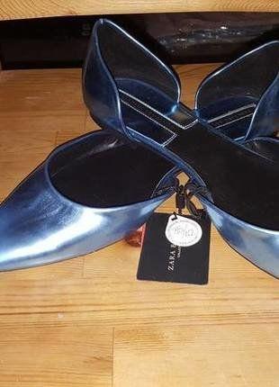 buty damskie skórzane ZARA 41 na sylwestra