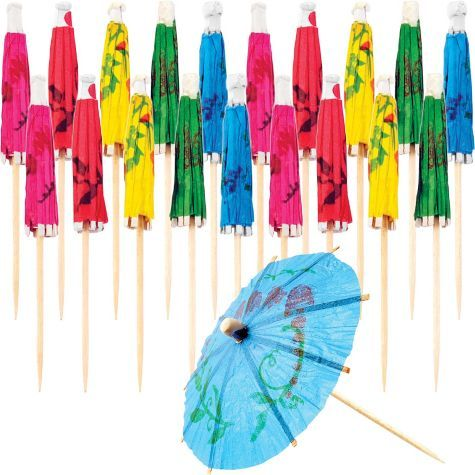 Cocktail Umbrella Picks - Party City