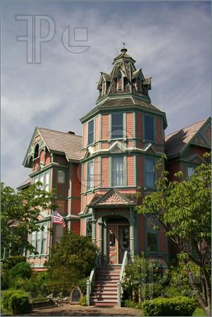 19th Century Home Victorian House | of Old Victorian house, now a bed and Breakfast, 19th century home ...