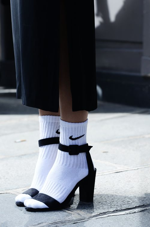 nike gym socks and sandals