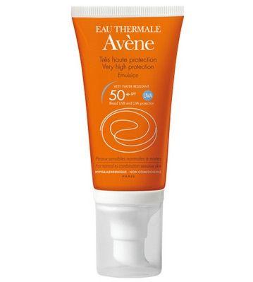 Avene Spf 50+ Emülsiyon Güneş Koruyucu 50 ML | İndirimli Güneş ürünü | 46,50 TL |Dermoeczanem online dermokozmetik sitesinde sizi bekliyor. Bu emülsüyon formundaki Avene güneş ürünü, karma ve normal ciltler için tam bir güneşten korunma sağlarken, formülündeki zengin Avene termal suyu ile cildinizi güçlendiriyor.