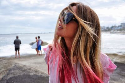 Peinados con Mechas californianas rosas - Ultimas tendencias!!!!