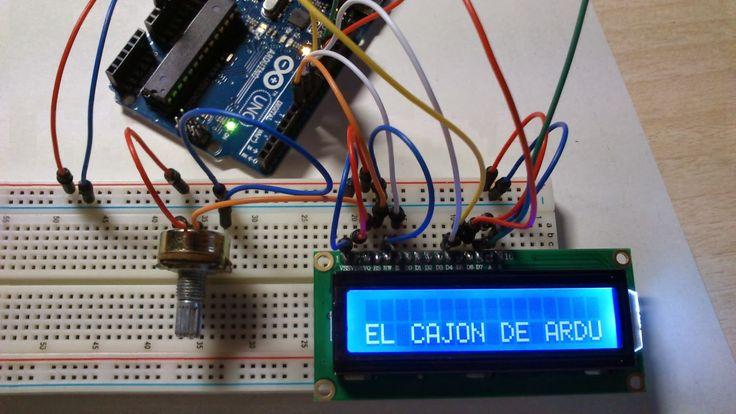Tutorial Arduino: conectando una pantalla LCD 1602A a Arduino UNO, en él aprenderas a conectar una pantalla LCD 16202A a una placa Arduino Uno.