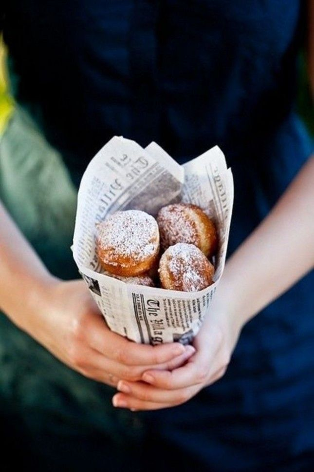 Mmmmm. French Quarter Beignets would be such a great wedding treat.                                                                                                                                                                                 More