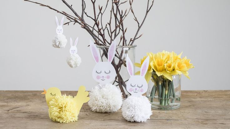 DIY – Easter decorations for the entire family - with free ...