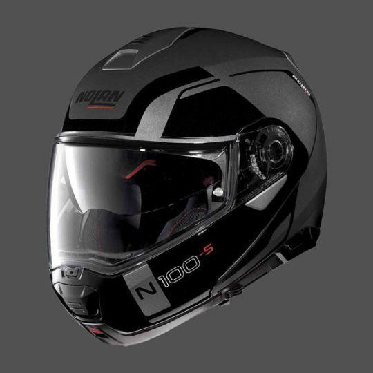 Nolan N100-5 Consistency N-Com Helmet - Flat Lava Grey