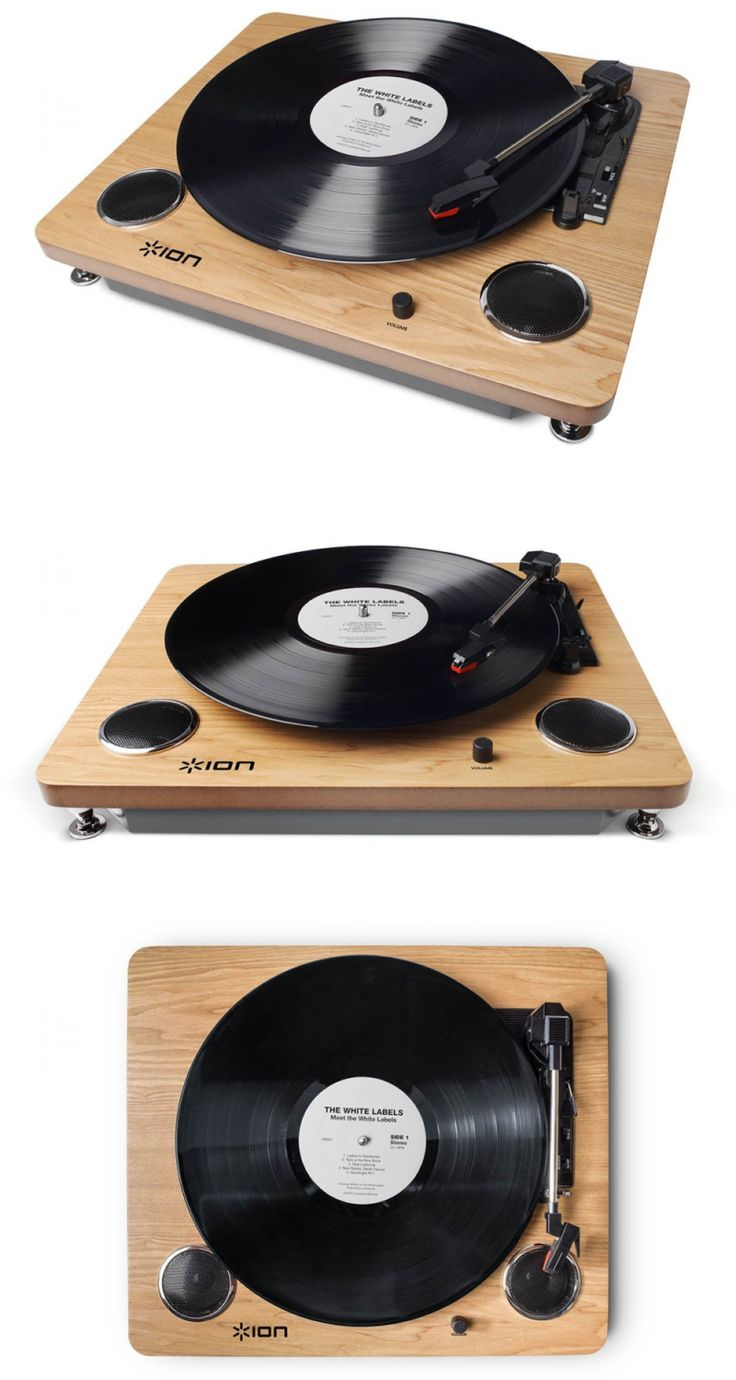 Record Players Home Turntables: Ion Audio Archive Lp   Digital Conversion Turntable With Built-In Stereo Speaker -> BUY IT NOW ONLY: $74.94 on eBay!