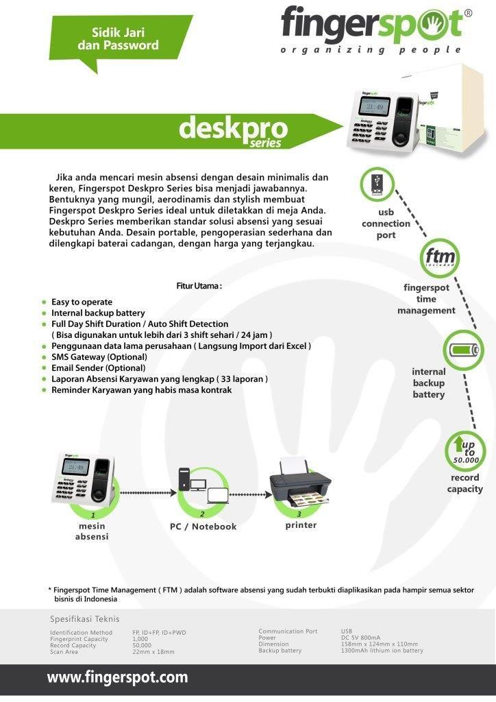 Deskpro Series harga promo Rp 1.250.000 ( harga normal Rp 1.450.000 )