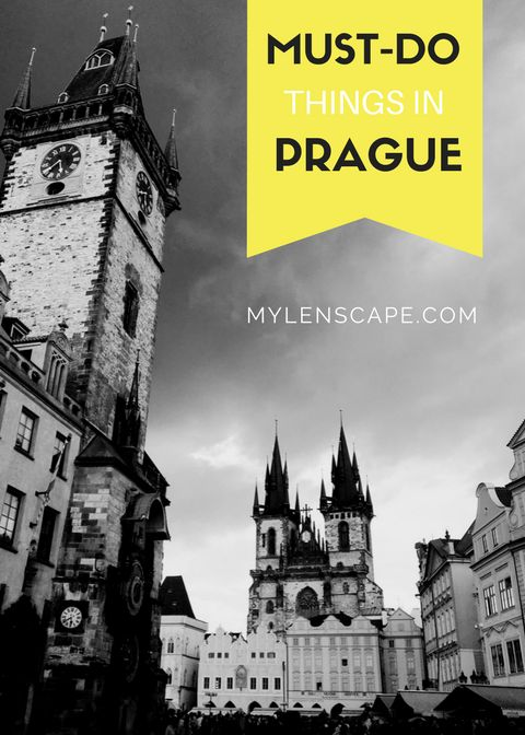 Must do things in Prague for the first-timers!