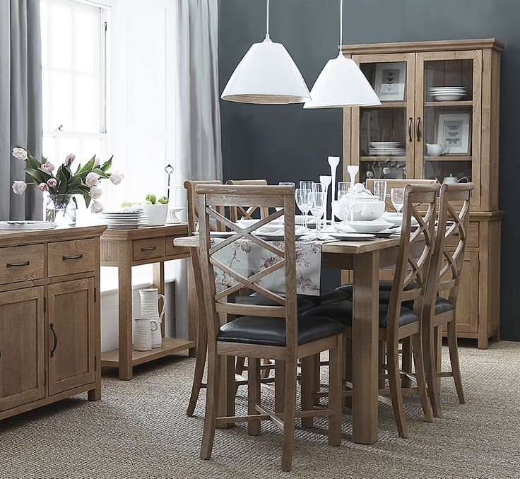 The Walden oak collection, stunning traditional styling with a warm oiled finish, a range that will add great character to any home :: :: :: :: See more here http://bit.ly/Walden-Oak-Furniture