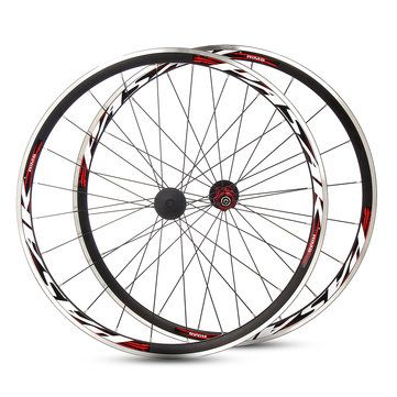 PASAK 700C Ultralight Road Bicycle Wheel <b>Front Rear</b> Wheelset ...
