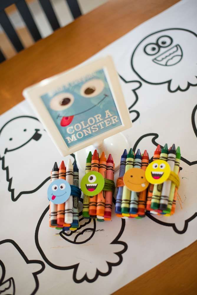 Silly Monsters Birthday Party Ideas | Photo 38 of 49 | Catch My Party