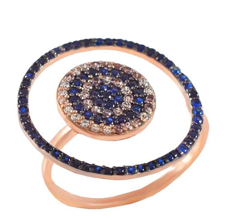 ES253 -Ασημένιο δαχτυλίδι