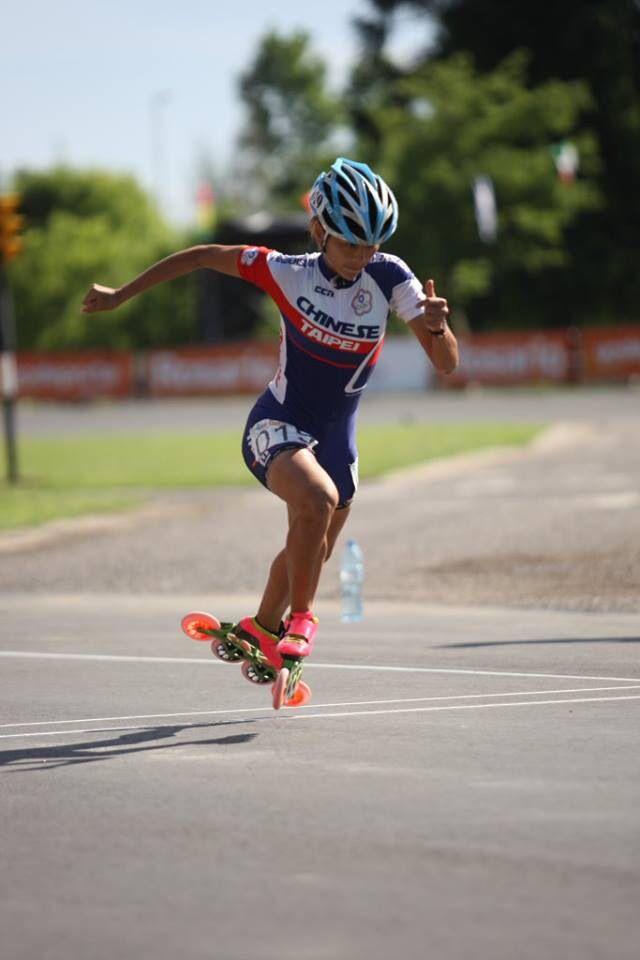 Inline Speed Skating. Rosario, Argentina 2014.