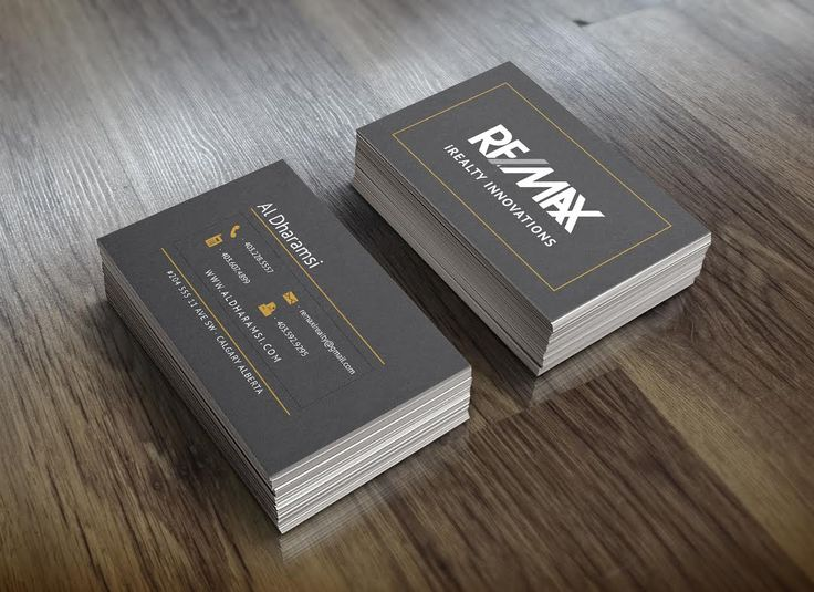 New #businesscards designed for #calgary real estate agent #yyc #realestate #remax #graphics #graphicdesign