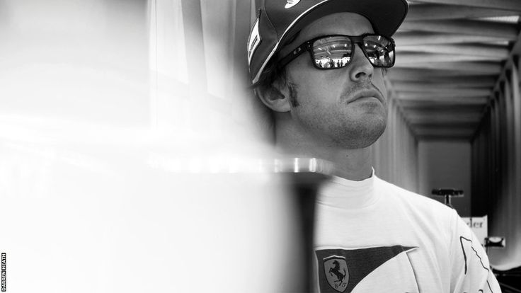 What's behind the glasses? Fernando Alonso, who has performed miracles in an uncompetitive car so far this season, contemplates life at Ferrari in Bahrain.