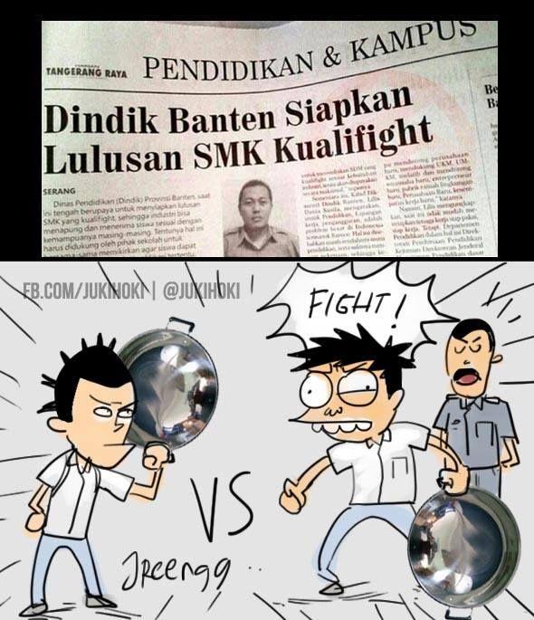 """""""Dindik Banten SMK Kualifight"""" (versi JukiHoki)"""