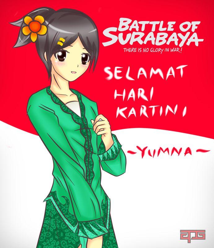 Yumna for Kartinian by APG – Battle of Surabaya Fan Art