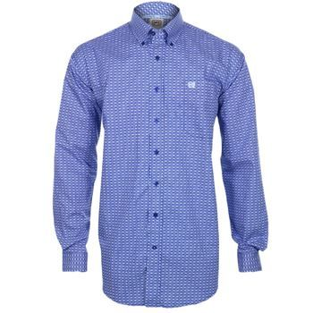 Cinch Men's Print Long Sleeve Western Shirt