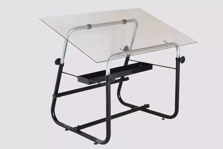 mesa de dibujo tecnico arquitectura tablero vidrio paralela