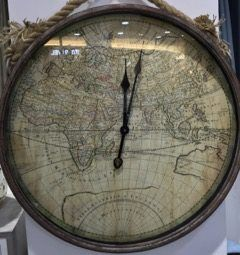 Wouldn't you love time to travel the world? Pick up this fab clock from your nearest LOL to help you count down to your next trip.