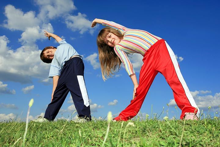 Warm Up Exercises For Kids - Exercise 2
