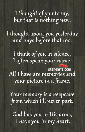 for memory table