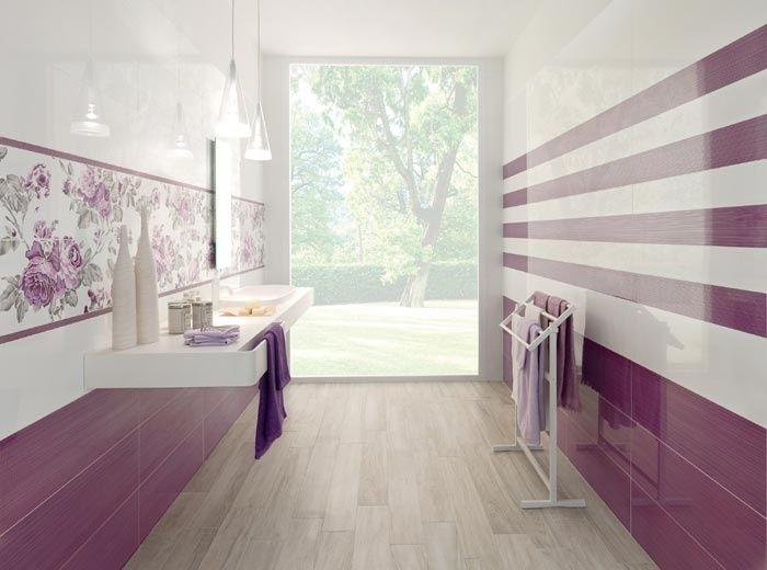 Galleria foto piastrelle colorate per bagni moderni foto - Piastrelle x bagni moderni ...