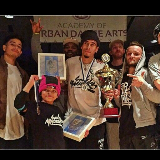 Bgirl Terra winning the ready 2 rumble in Germany with her crew mate Bboy Spin who they are apart of the soul mervaricks.