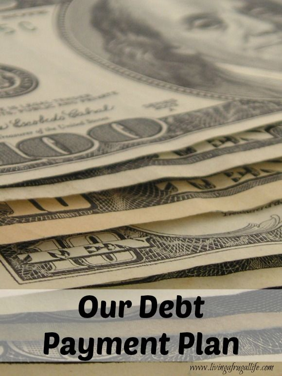 August Budget and How We Pay off Debt