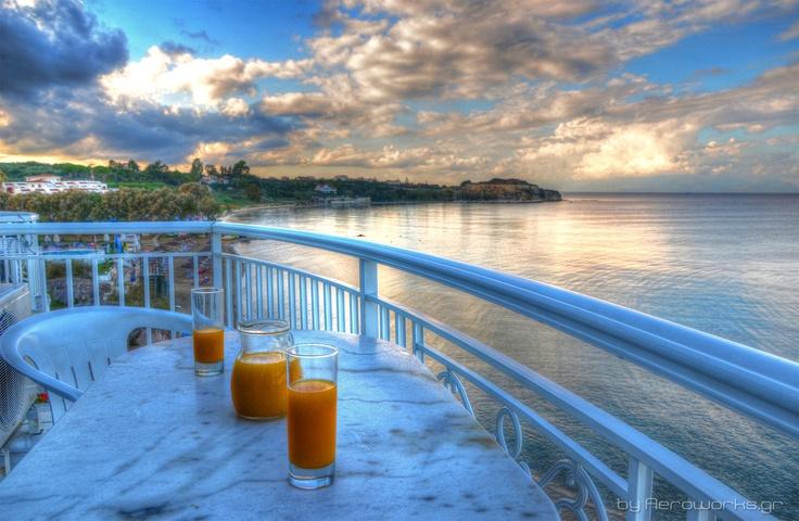 Tsilivi beach from Filoxenia hotel