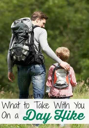 What to Take on a Day Hike ~ Tips for hiking #Family