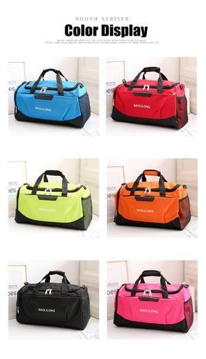 0251d0270b Professional Waterproof Large Sports Gym Bag With Shoes Pocket Men Women  Outdoor Fitness Training Duffle Bag Travel Yoga Handbag