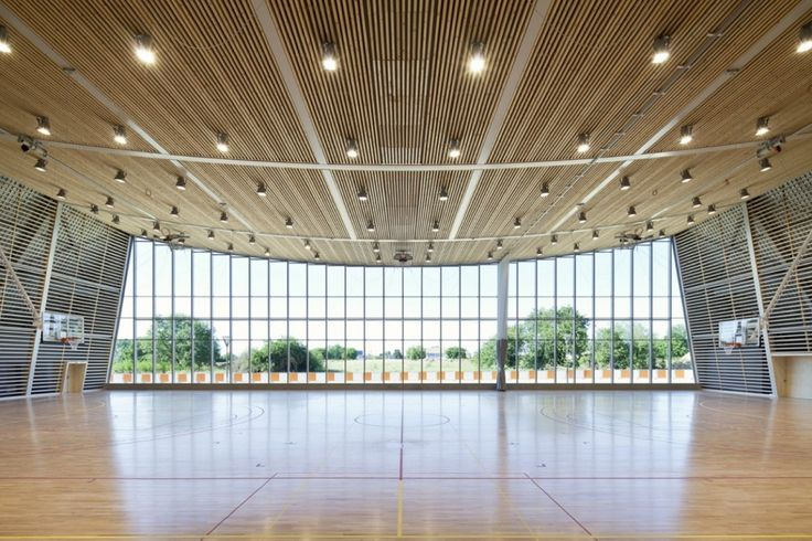 Monconseil Sports Hall / Explorations Architecture (12)