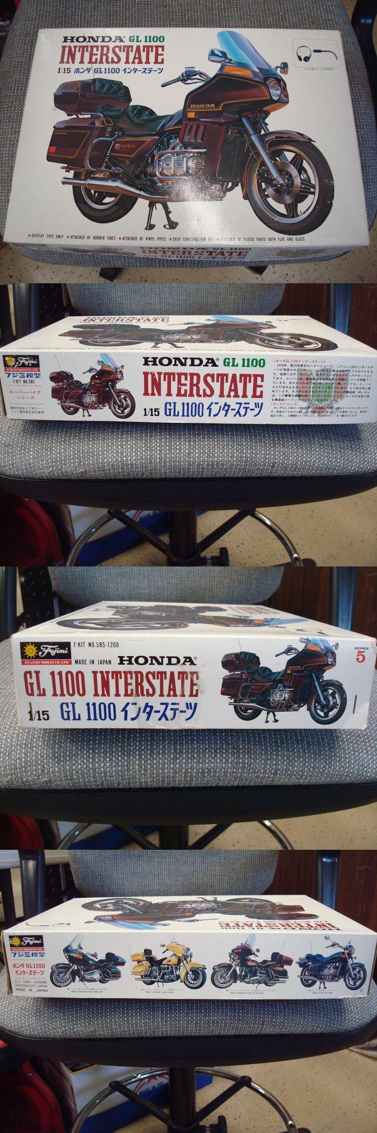 Motorcycle 2591: Fujimi Honda Gl1100 Goldwing Gold Wing Interstate Motorcycle Mo… – โมเดล