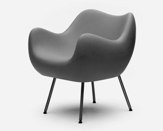 RM58 in black | armchair . Sessel . fauteuil | Design: Roman Modzelewski |