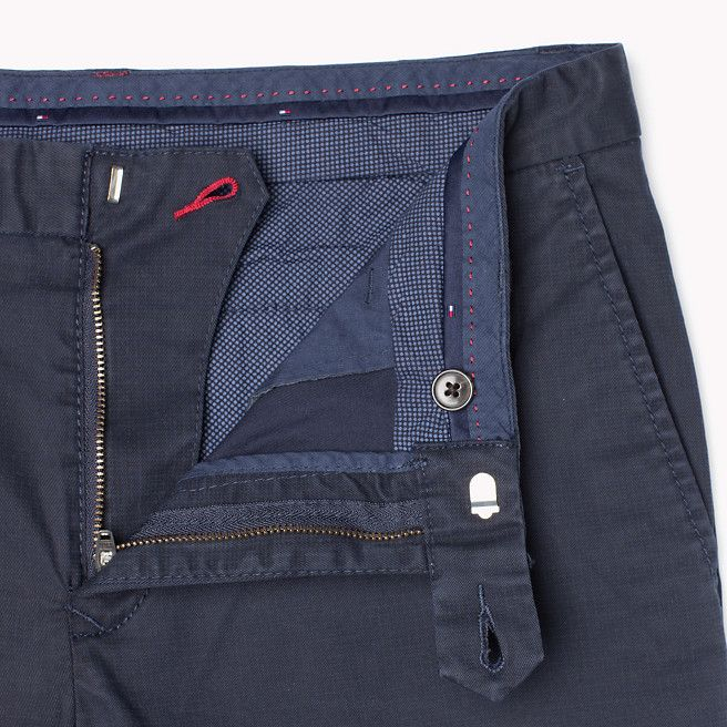Tommy Hilfiger Denton Straight Fit Chino - navy blazer-pt (Blue) - Tommy Hilfiger Trousers - detail image 3