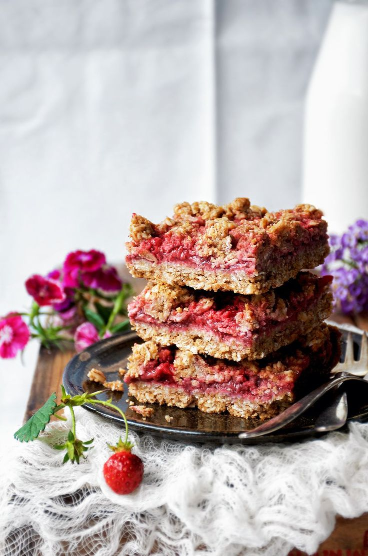 Strawberry Jam Bars | Occasionally Eggs