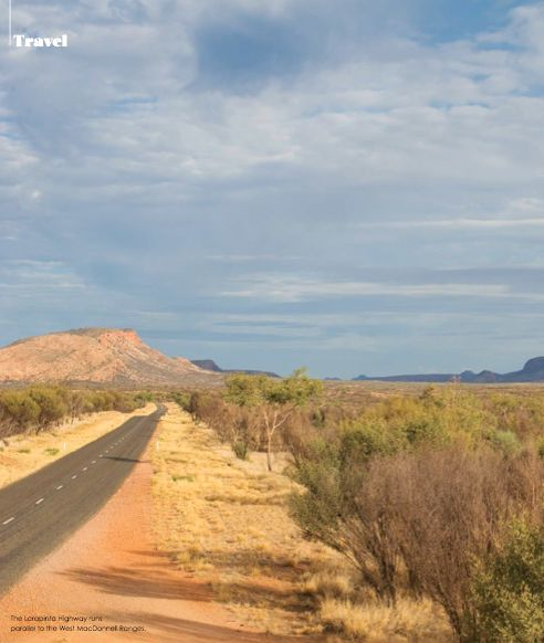 the larapinta - text: Tom Bodycomb, photography: Tamsin O'Neill