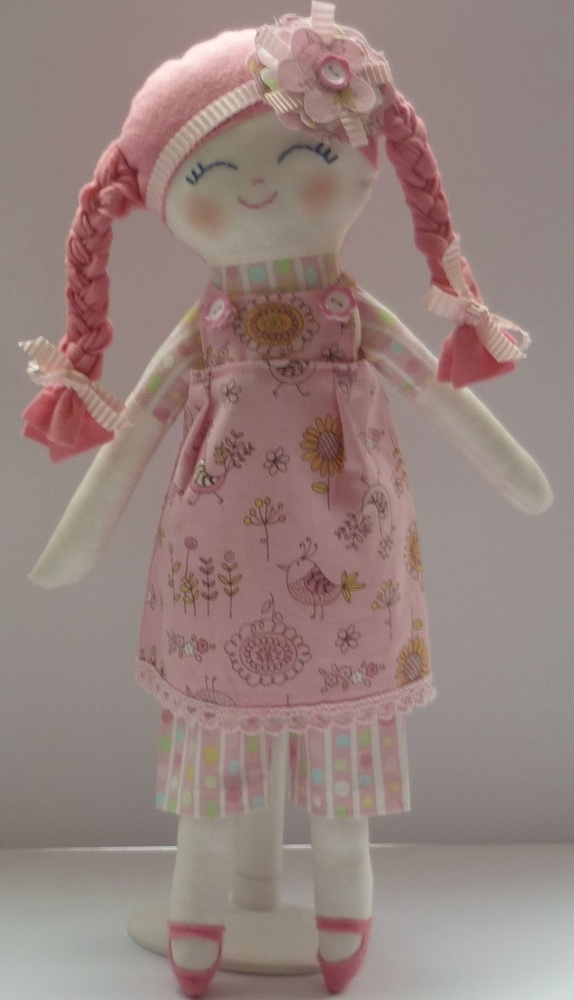 Doll in lovely Easter outfit