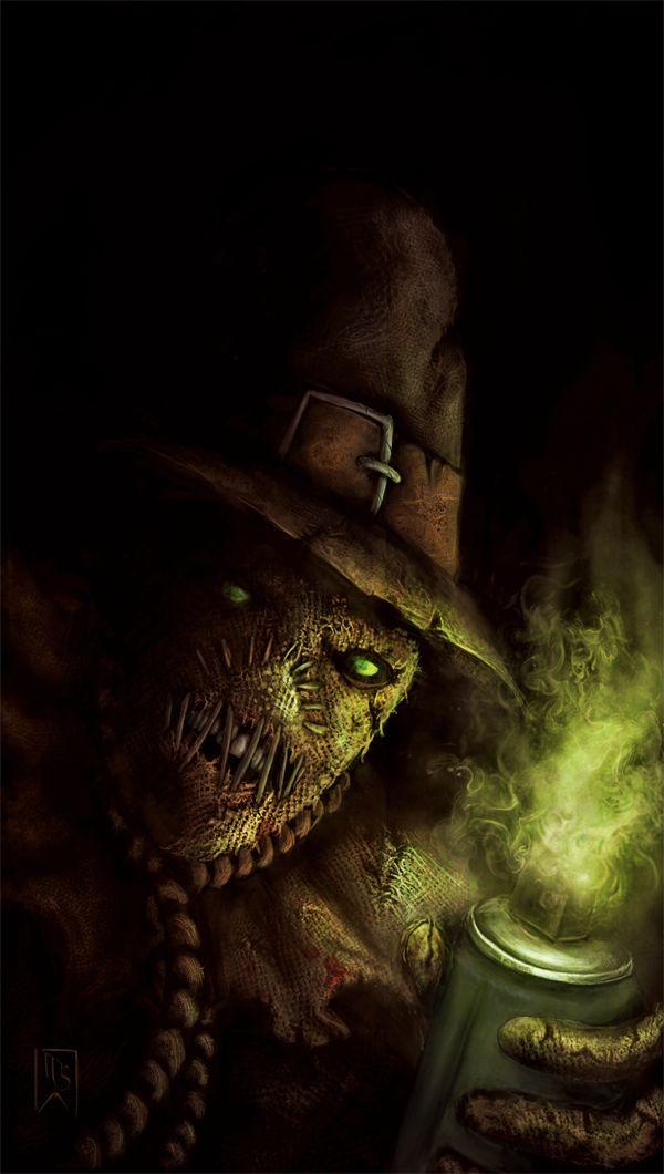 Scarecrow by ~IanSchofield on deviantART Batman, Arkham Asylum, Artwork, Illustration, Photoshop, fanart, DC Comics